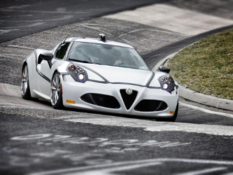 Купе Alfa Romeo 4C установило рекорд Нюрбургринга