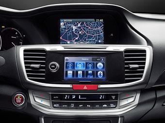 Навигаторы Honda научились показывать российские пробки