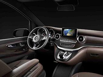 Mercedes-Benz рассекретил интерьер новой модели