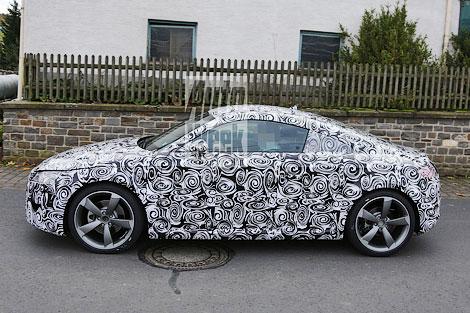 Купе TT следующего поколения сравнили с Mercedes-Benz SLK, BMW Z4 и Peugeot RCZ. Фото 1