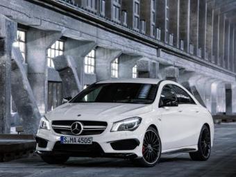 Универсал Mercedes-Benz CLA появится в 2015 году