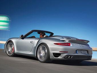 Ветрозащитные экраны Porsche встроят в подголовники кресел
