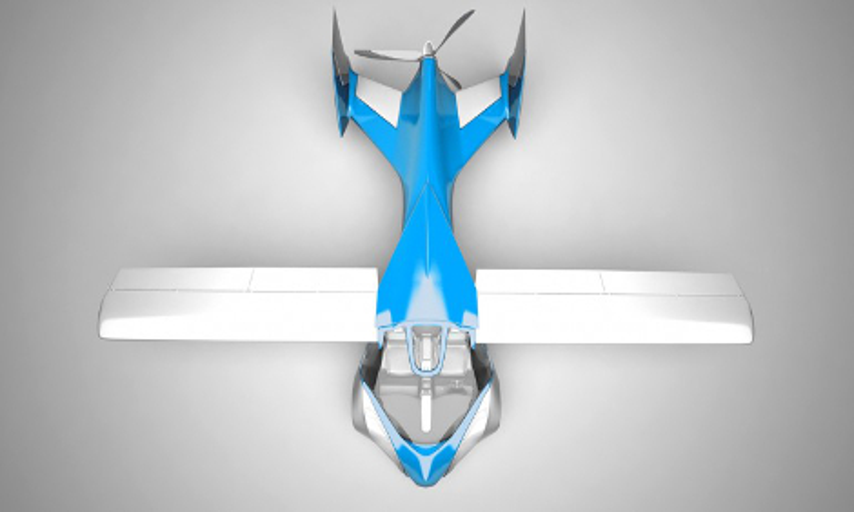Машина имеет карбоновый кузов и способна пролететь 700 километров. Фото 2