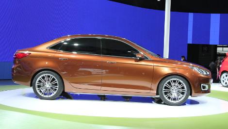Новый Ford Escort появится в 2014 году. Фото 3