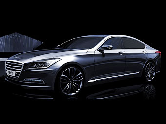 Новый седан Hyundai Genesis обзаведется полным приводом