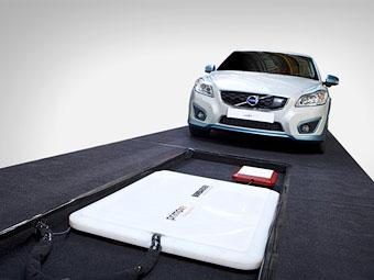 Volvo завершила тесты беспроводной зарядки электрокаров