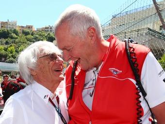 Экклстоун разрешил команде Marussia остаться в Формуле-1