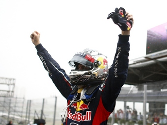 Себастьян Феттель стал четырехкратным чемпионом Формулы-1
