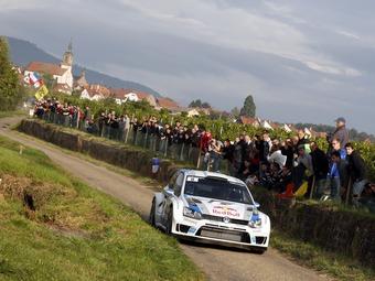 Восьмая победа Ожье принесла Volkswagen чемпионский титул в WRC