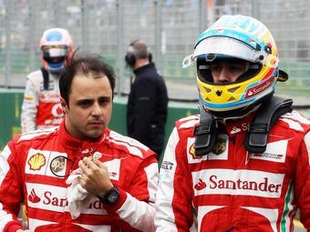 Масса ослушался инженеров Ferrari и опередил Алонсо в квалификации