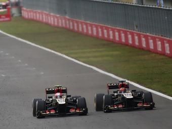 Команда Lotus выразила недовольство неуступчивостью Райкконена