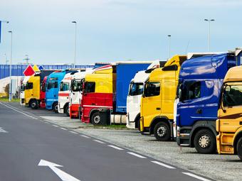В пределах Садового кольца появятся парковки для грузовиков