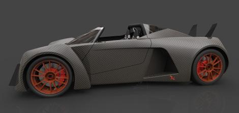 Новинка получит карбоновый кузов и двигатель V8