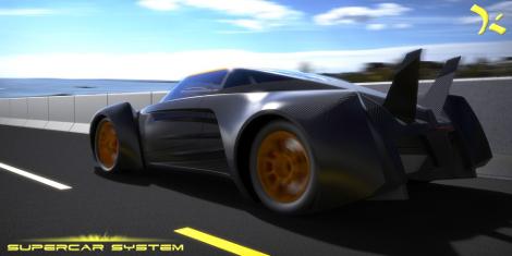 Новинка получит карбоновый кузов и двигатель V8. Фото 1