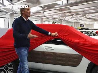 Citroen показал фрагмент новой модели