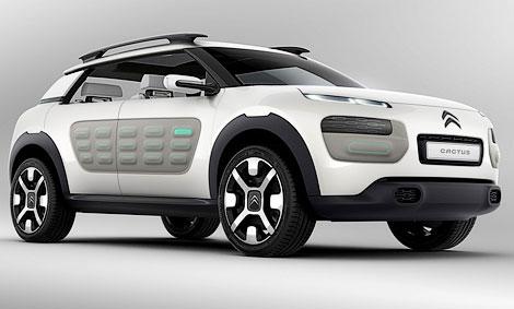 """В """"Ситроене"""" готовят к дебюту модель по мотивам концепт-кара Cactus"""