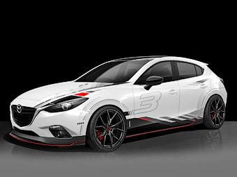 "Mazda привезет в Лас-Вегас тюнинг-версии ""трешки"" и ""шестерки"""
