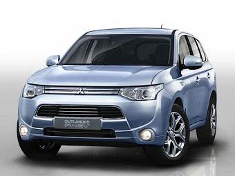 Компания Mitsubishi подготовила для России гибридный Outlander