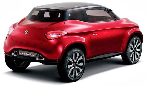В конце ноября Suzuki покажет четыре концептуальных кроссовера. Фото 1