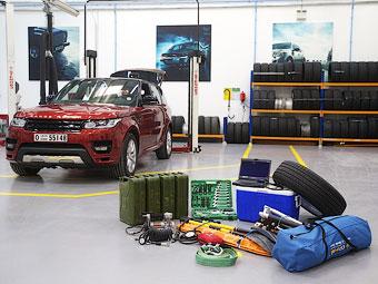 Range Rover Sport установит рекорд по времени пересечения пустыни