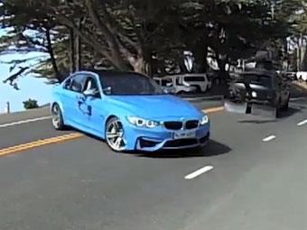 Новый седан BMW M3 засняли без камуфляжа