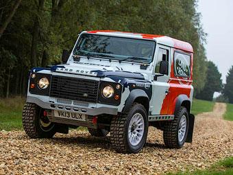 Британцы подготовят Land Rover Defender для ралли
