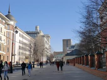 Несколько улиц в центре Москвы сделали пешеходными