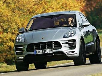 Немецкий журнал рассекретил внешность кроссовера Porsche