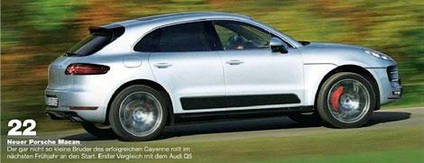В Сеть попали фотографии Porsche Macan без камуфляжа