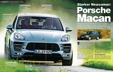 В Сеть попали фотографии Porsche Macan без камуфляжа. Фото 1