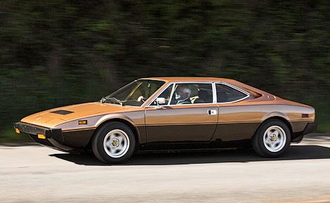 Купе Ferrari Dino 70-х годов продали за 250 тысяч долларов