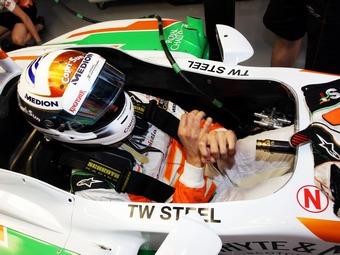 Адриан Сутил сохранит место в Формуле-1