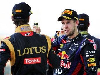 Феттель выбрал главного соперника команды Red Bull