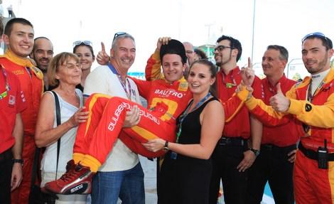 Швейцарский пилот досрочно выиграл титул в молодежной гоночной серии