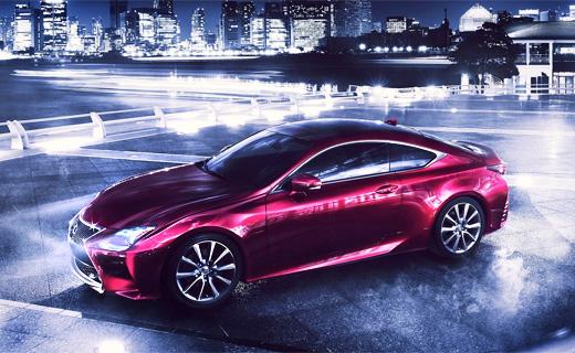 «Лексус» рассекретил конкурента BMW 4-Series