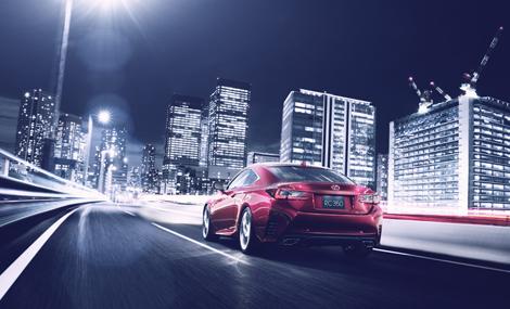 Купе Lexus RC получило гибридную версию и модификацию с мотором V6