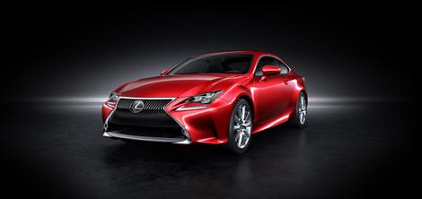 Купе Lexus RC получило гибридную версию и модификацию с мотором V6. Фото 2
