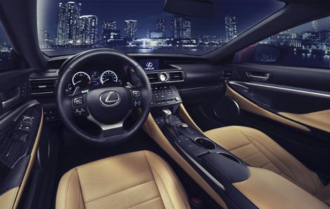 Купе Lexus RC получило гибридную версию и модификацию с мотором V6. Фото 3