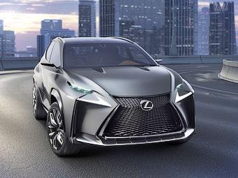 Концепт-кроссовер Lexus сменил гибридную установку на турбомотор