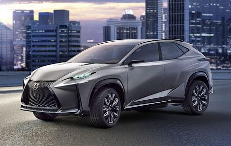 Lexus опубликовал первую фотографию серийного вседорожника NX. Фото 1