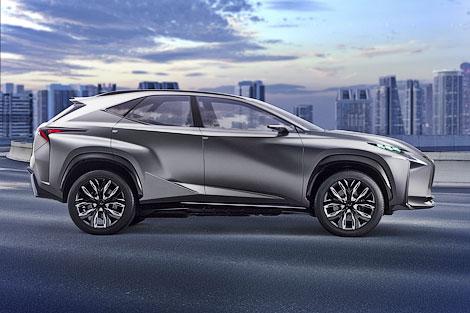 Появилось первое изображение новой модели Lexus. Фото 1