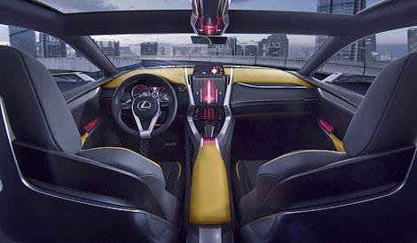 В Токио дебютирует прототип Lexus LF-NX с «турбочетверкой». Фото 3