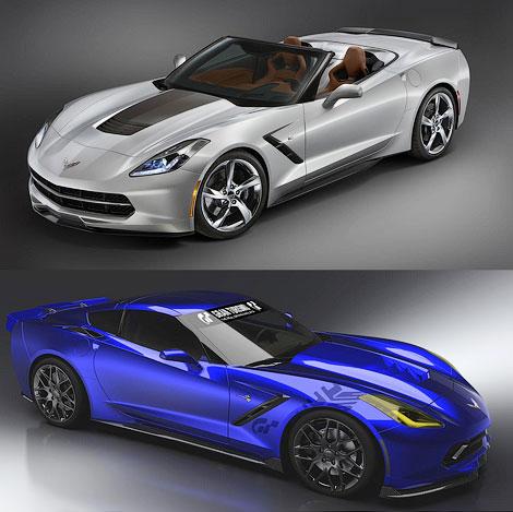 Автопроизводитель представит на тюнинг-шоу особые версии Corvette, SS и Camaro