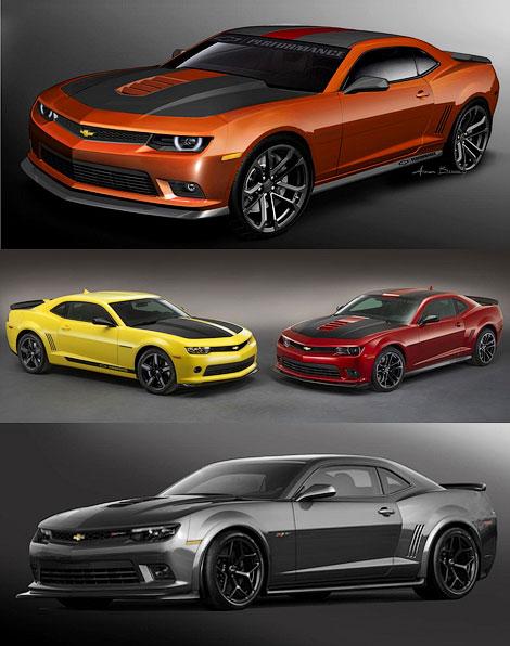 Автопроизводитель представит на тюнинг-шоу особые версии Corvette, SS и Camaro. Фото 2
