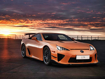 Lexus создаст преемника суперкара LFA вместе с BMW