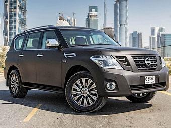 Nissan освежил внешность внедорожника Patrol