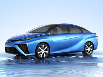 """""""Тойота"""" показала прообраз водородной модели"""