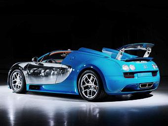 "Bugatti посвятила спецверсию ""Вейрона"" другу Этторе Бугатти"