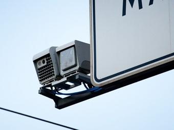 """Московских водителей предупредят о дорожных камерах """"бегущей строкой"""""""