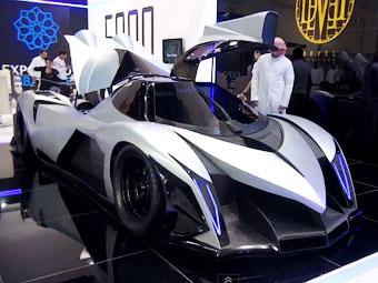 Арабы построили 5000-сильный суперкар